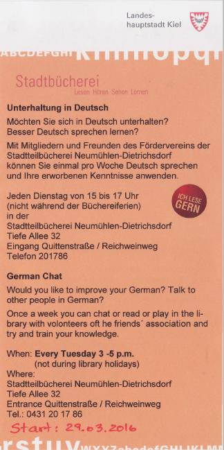 german chat 1